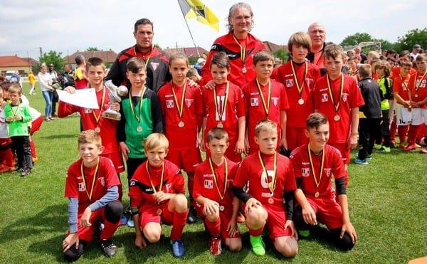 UTA și Atletico au strălucit la Cupa Cotta Internațional sub privirile șefului scouterilor de la Liverpool