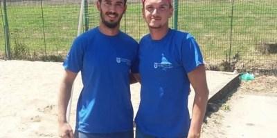 """""""Naționalele"""" universitare de volei pe plajă, dominate de sportivii UVVG ProVolei Arad"""