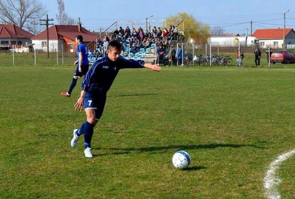 Bibarț s-a oprit la cota 9 pentru un loc pe podium: ACS Socodor - UTA II 6-1
