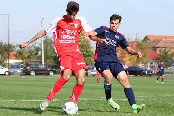 Foamea de goluri rămâne mare și la Elite: UTA Under 17 - SCM Râmnicu Vâlcea 4-0