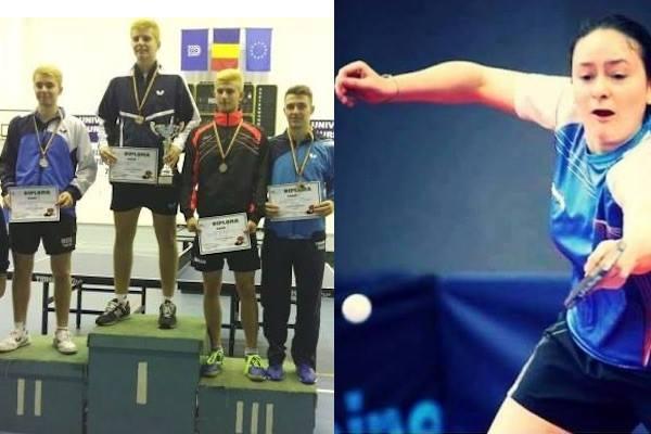 Aur și bronz pentru Crișan și Mladin la Cupa României de tenis de masă! Eliza Samara - atracția celor două zile de competiție, de la Arad