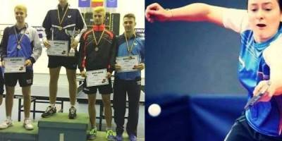 Aur și bronz pentru Crișan și Mladin la Cupa României de tenis de masă! Eliza Samara – atracția celor două zile de competiție, de la Arad