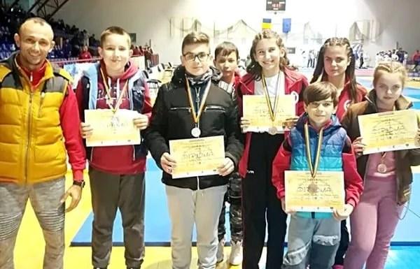 Judoka de la Unirea Sântana și CSM Arad, pe podium la Cupa Severinului