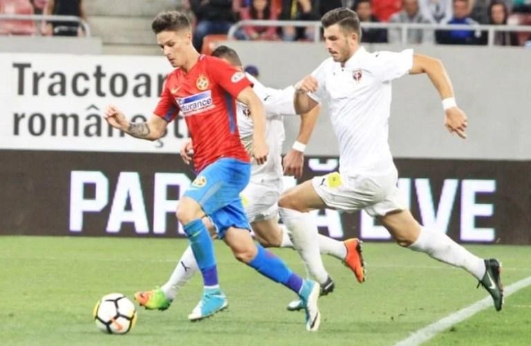 Arădeanul Man - singurul român de pe lista celor mai promiţători 50 de fotbaliști întocmită de UEFA!