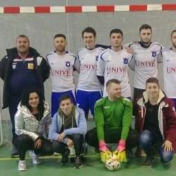 """Campionatul județean de futsal: Ineul a câștigat la ultima fază """"zona"""" de la Macea, chiar în fața echipei gazdă"""