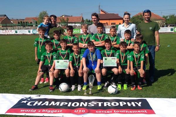 Sârbii de la Duel Krusevac și Academia Brosovszky merg în finala Champions Trophy Under 10 de la Viena! + FOTO