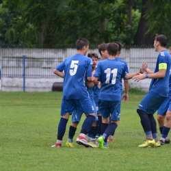 Juniorii A1 ai zărăndanilor au defilat spre etapa semifinală: CS Ineu - Petrolul Bustuchin 5-0 + FOTO