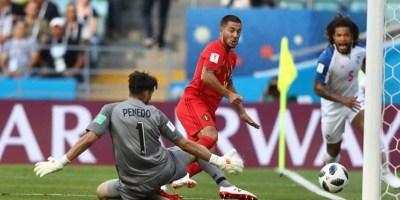 """Zi fastă pentru favorite la Mondiale: Dinamovistul Penedo a rămas în picioare doar o repriză în fața """"dracilor roșii"""""""