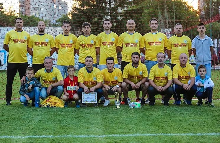 Progresul 2005, campioană Liga 5