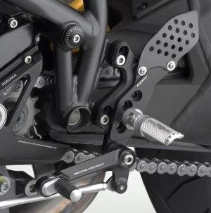 Rizoma REV Rearsets for Ducati Streetfighter