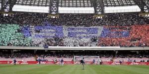 Foto del San Paolo tratta dal sito dell'SSC Napoli