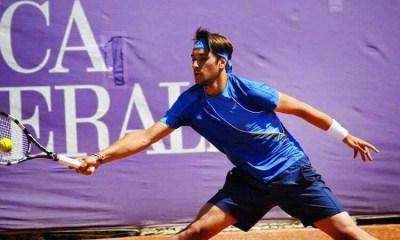 Il tennista piacentino Gianluca Beghi