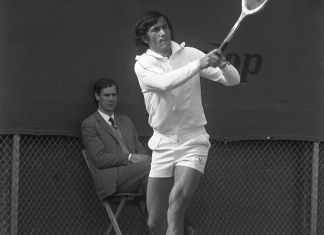 Ilie Năstase artist si tenisman
