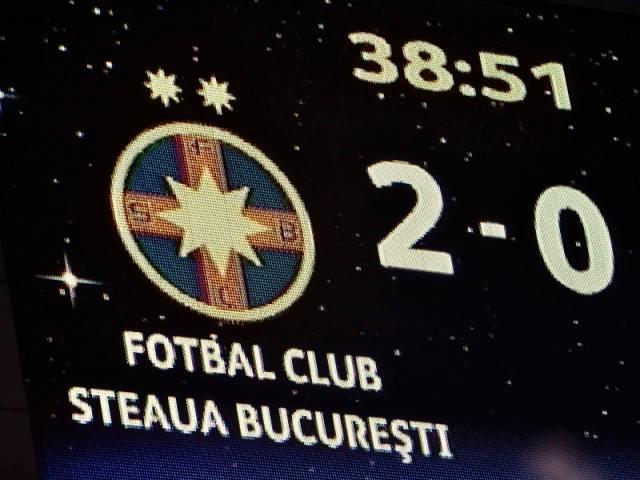 Noua sigla a Stelei sau FCSB pe tabela de marcaj