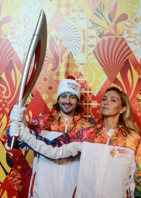 Sotchi 2014 - Torche Olympique