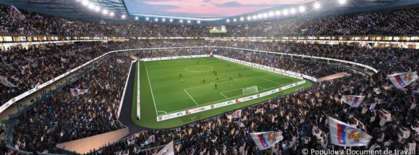 Stade des Lumières - Lyon-Décines - intérieure
