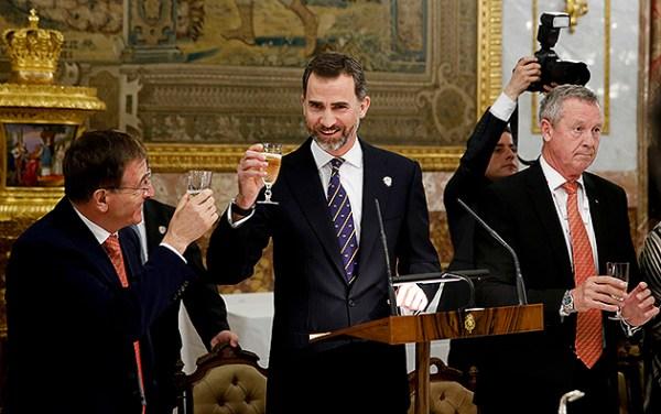 Discours Prince Felipe d'Espagne