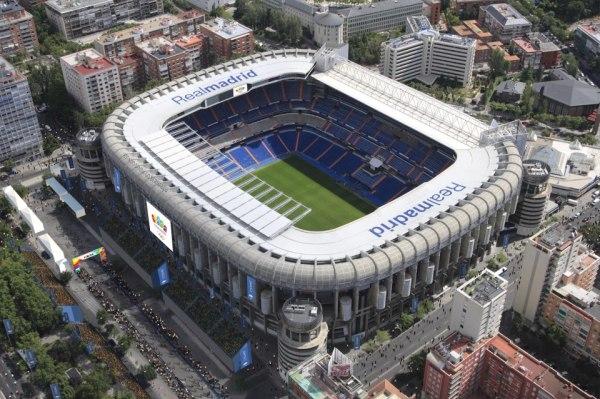 Estadio Santiago Bernabeu - Madrid2020