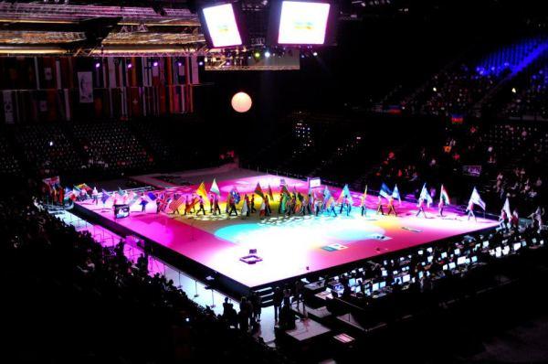 Mondiaux - Gymnastique Rythmique - Montpellier