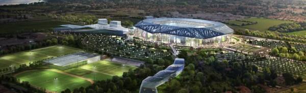 Stade des Lumières - Lyon Décines