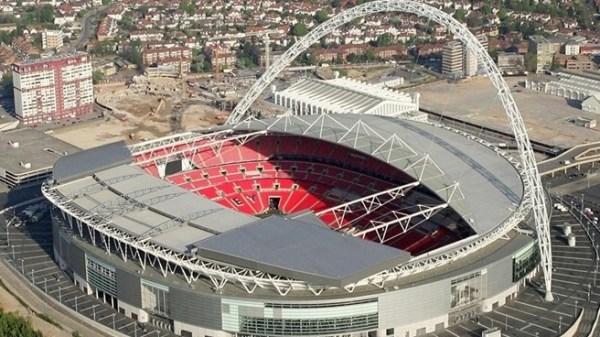 Wembley - vue extérieure