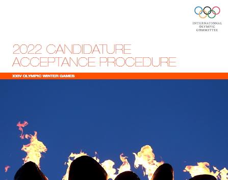 Candidature Acceptance 2022