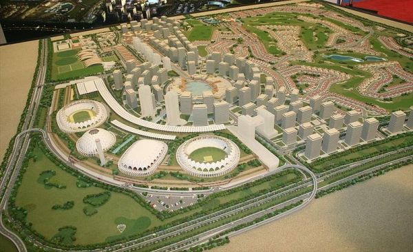 Dubaï Sports City - 2007