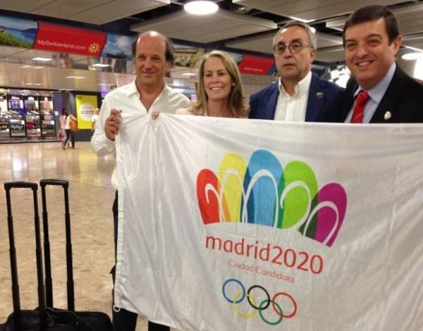 Madrid 2020 - présentation technique à Lausanne