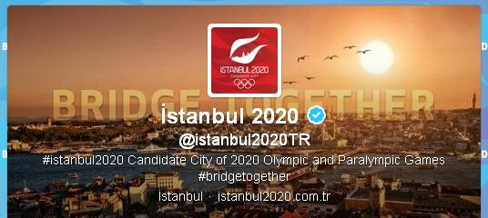 Istanbul 2020 - Twitter