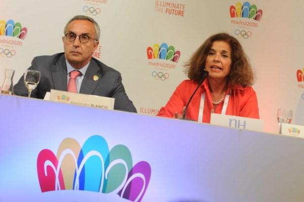 Conférence de presse - Madrid 2020 à Buenos Aires - 04 septembre 2013