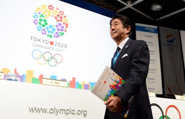 Le Premier Ministre Shinzo Abe, à la tribune de présentation du projet de Tokyo 2020, le 07 septembre 2013 à Buenos Aires (Crédits - CIO / Flickr)