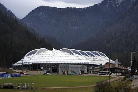 Inzell, Eisschnelllaufhalle, 21.11.2010
