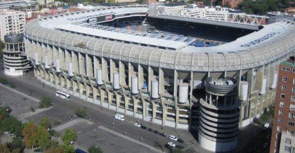 Stade Santiago Bernabeu - Madrid