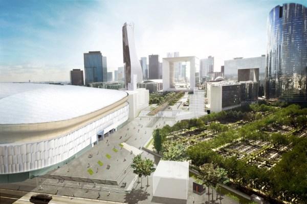 Arena 92 - vue extérieure