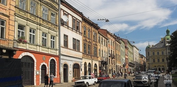 Centre ville de Lviv - Ukraine