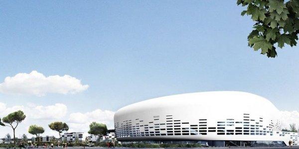 Grande Salle Bordeaux-Floirac - vue extérieure