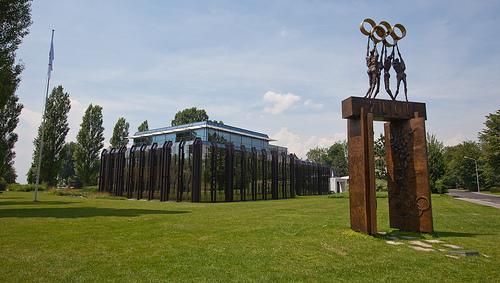 IOC Lausanne - diluvienne Flickr