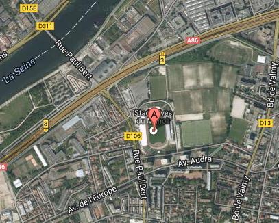 Stade Yves du Manoir - Colombes