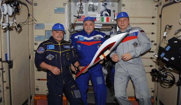 Space torch - Sochi 2014