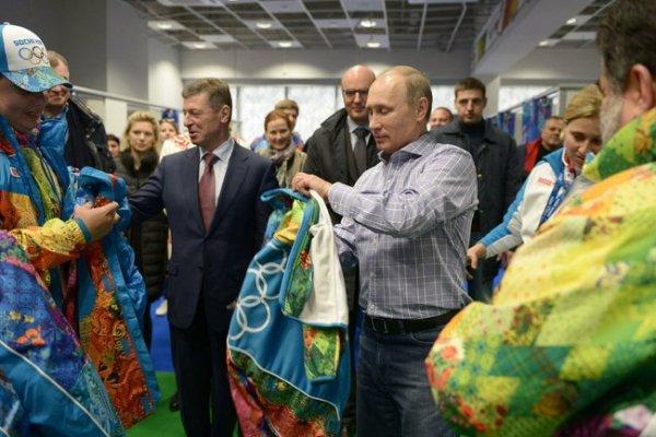Vladimir Poutine - Sotchi 2014