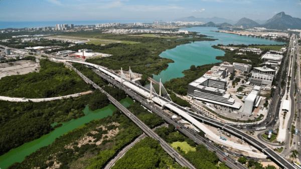 Ponte Estaiada Da Barra - Rio 2016
