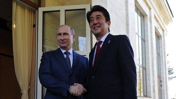 Vladimir Poutine - Shinzo Abe