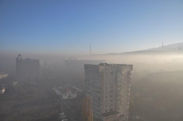 Almaty - pollution
