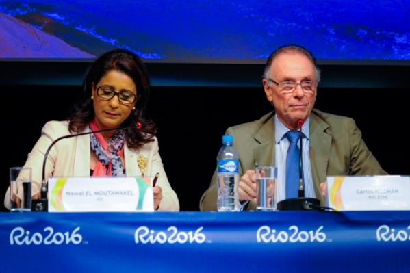 Nawal El Moutawakel - Carlos Nuzman - Rio 2016