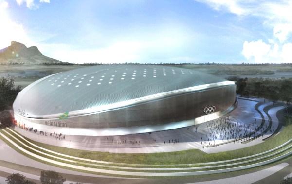 Vélodrome Olympique - Rio 2016 - vue aérienne