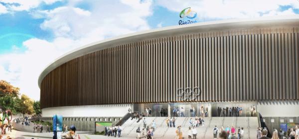 Vélodrome Olympique - Rio 2016 - vue extérieure