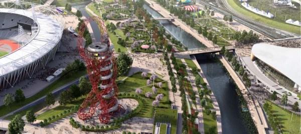Queen Elizabeth Olympic Park - ouverture