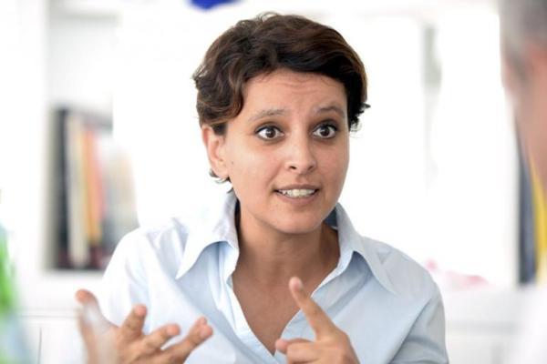 Najat Vallaud Belkacem - L'Equipe