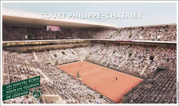 Nouveau Court Philippe Chatrier - RG 2014