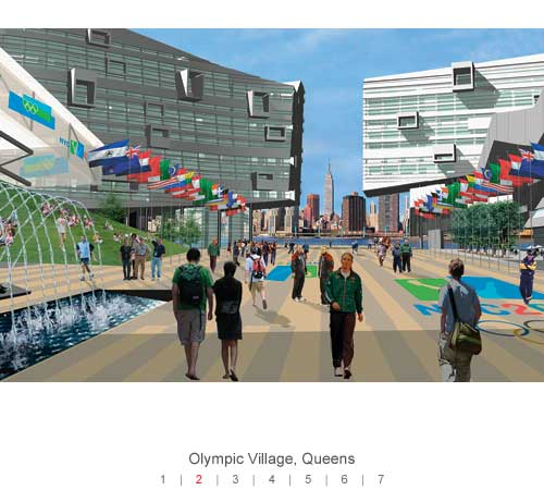 NYC - Olympic Village - Queens